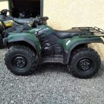 Yamaha 450 grizzly # power steering #
