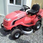 Used Honda 2417 ride on lawnmower